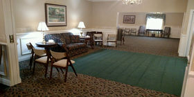 Sitting area at Hockemeyer & Miller Funeral Home