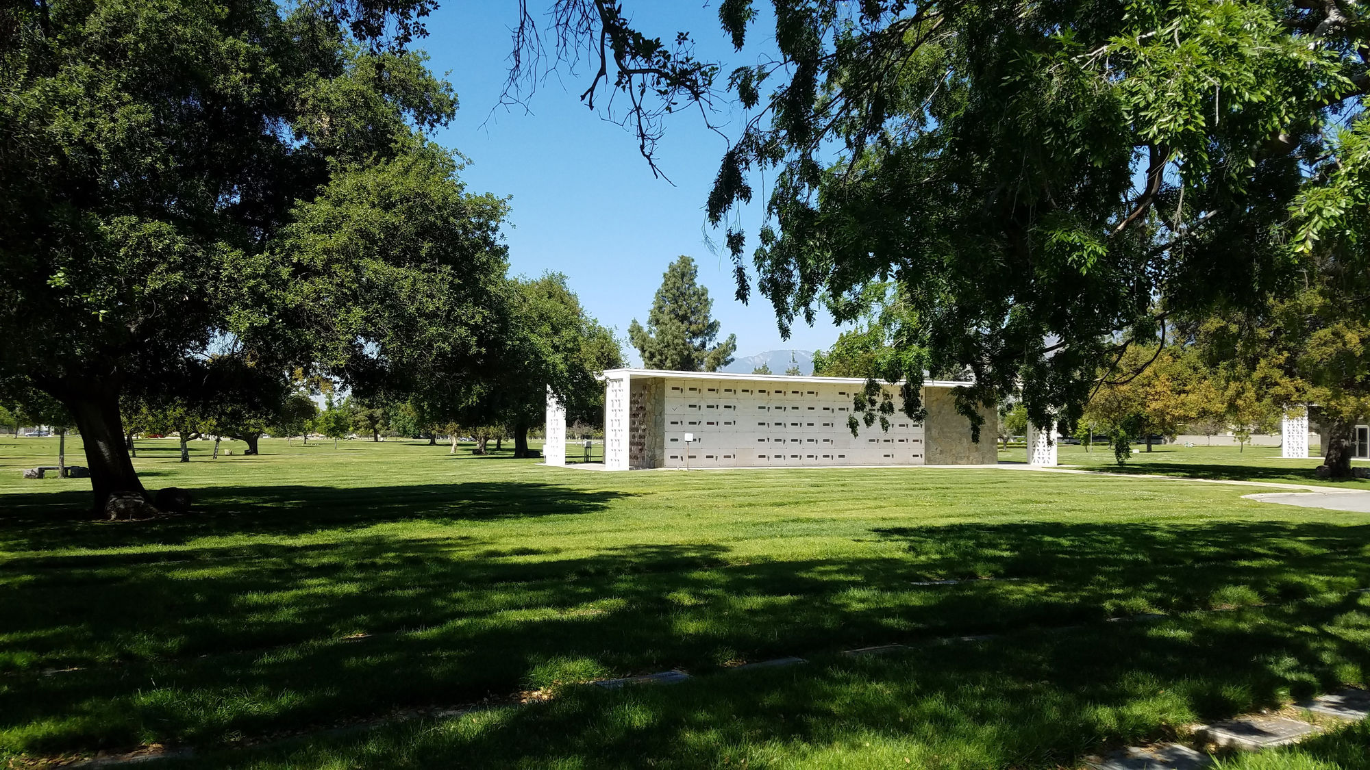 Mausoleum at Oakdale Mortuary