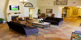 Lobby at Funeraria del Angel - Highland Funeral Home
