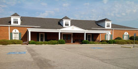 Front exterior building at Kilgroe Funeral Home